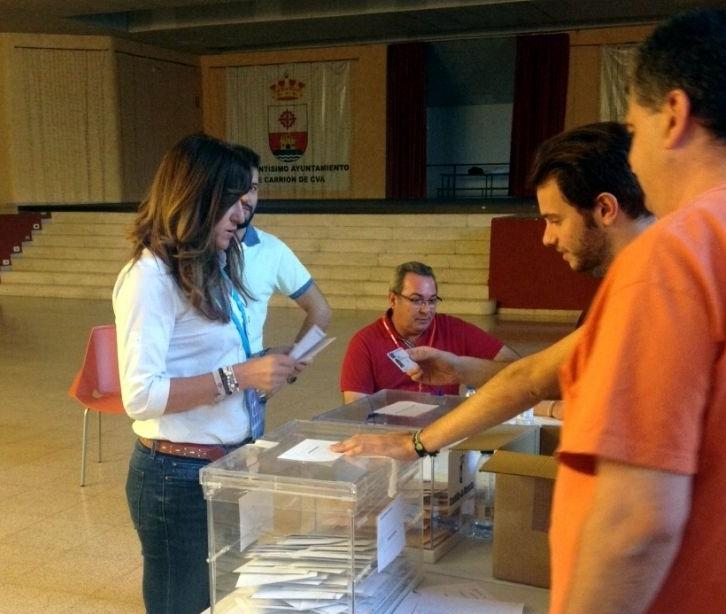 La popular Ana María López revalidó su mayoría absoluta en Carrión de Calatrava, donde también ganó el PP en las regionales