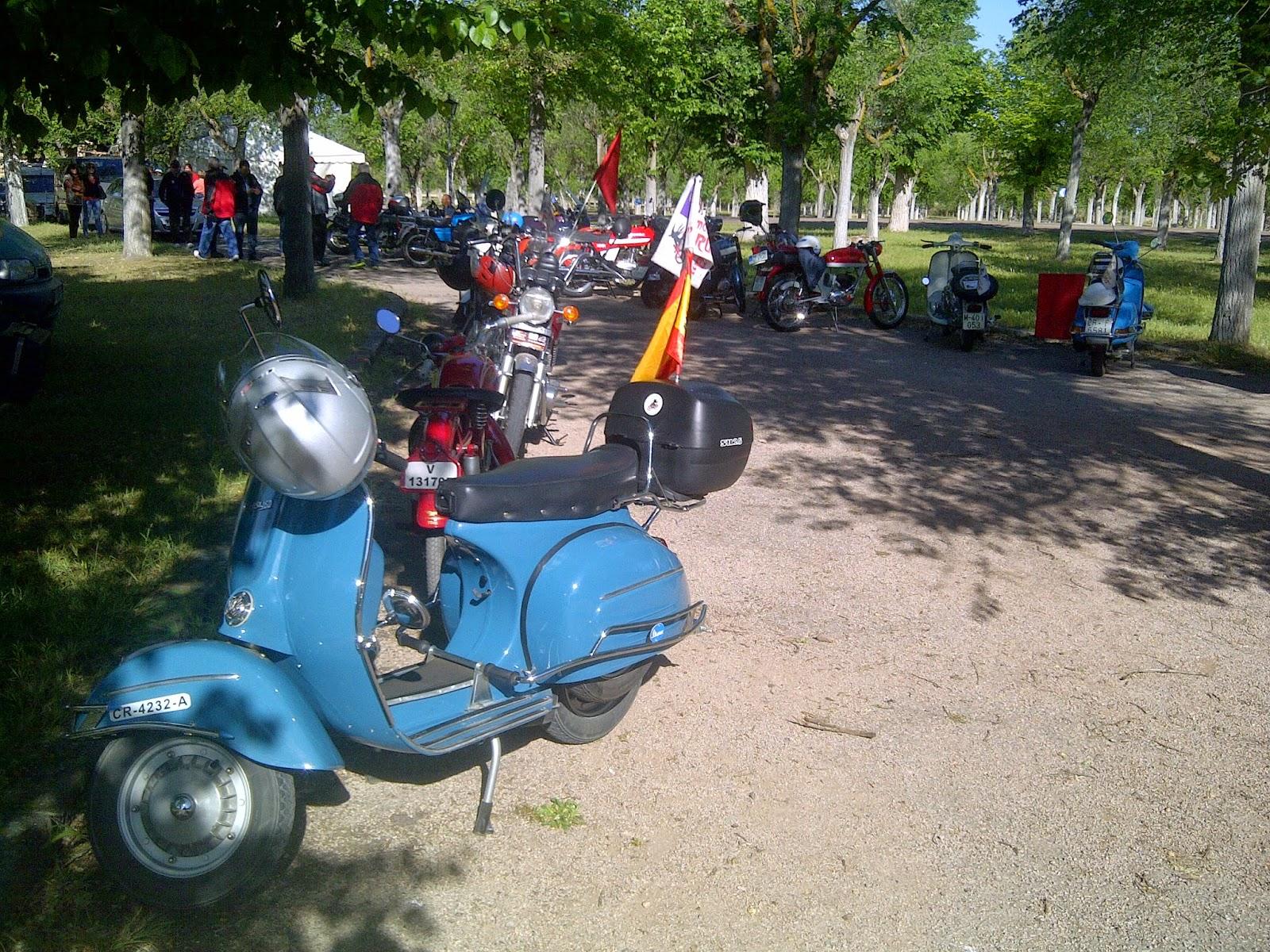 """Encuentro de motoclubes en """"Las Cruces"""""""