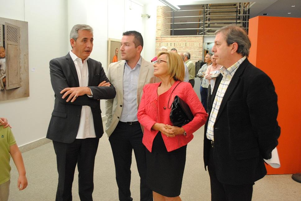 """El alcalde asistió a la inauguración de la exposición """" Homenaje a Marqués Talavera """""""