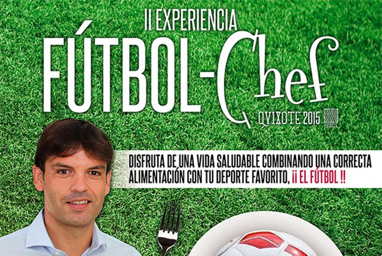 Cocina y deporte unidos en Ciudad Real por primera vez con el Campus Fútbol-chef