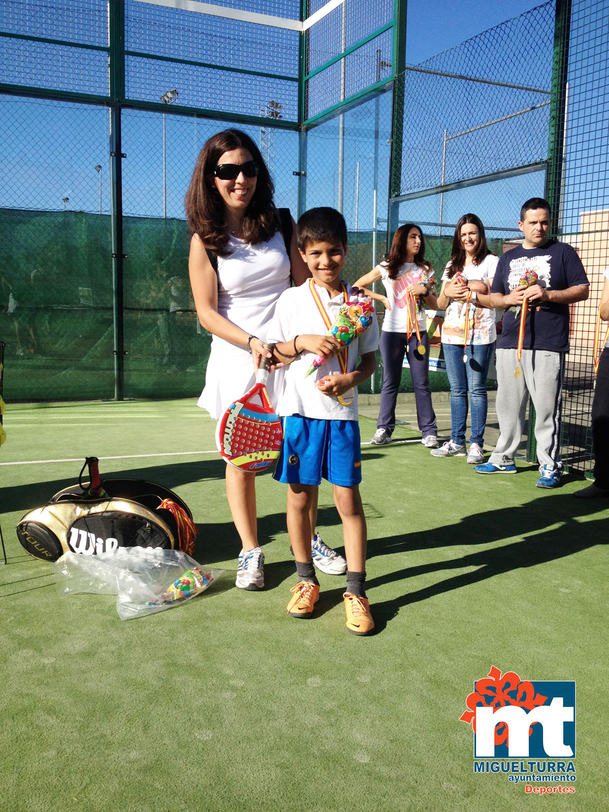 Celebrada la jornada de pádel infantil de la Escuela Deportiva de Miguelturra