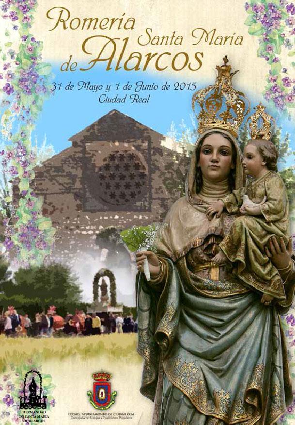 Romería Santa María de Alarcos 2015. 31 de mayo y 1 de junio