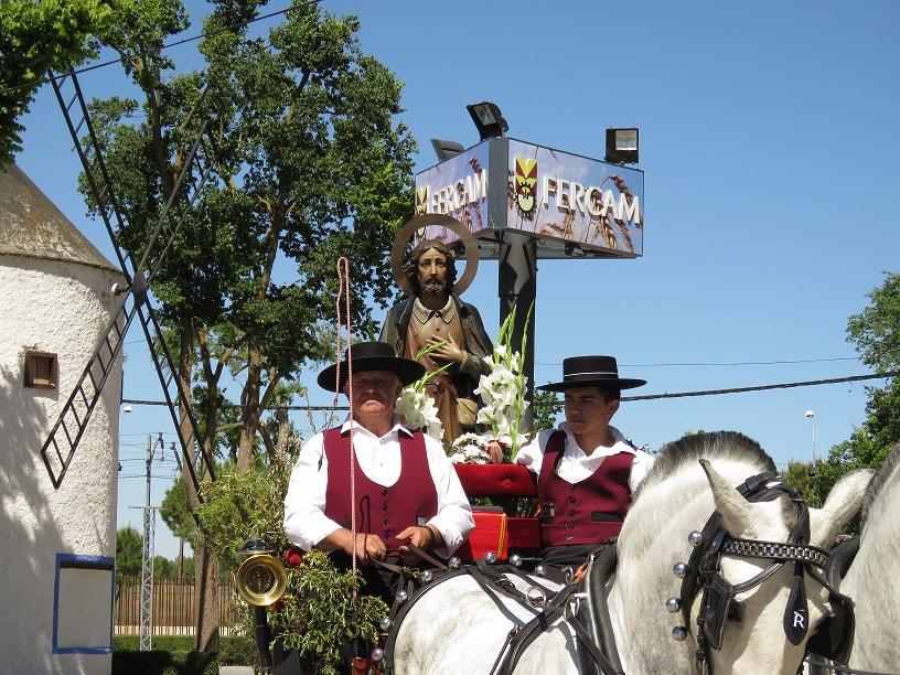 El recinto ferial acoge otro gran día de romería de San Isidro