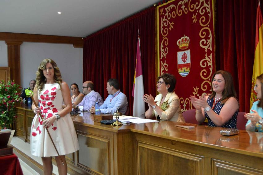 Ana María López, alcaldesa de Carrión