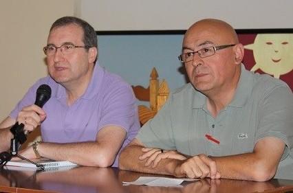 Cáritas Corpus Antonio Naranjo y Benjamín Rey