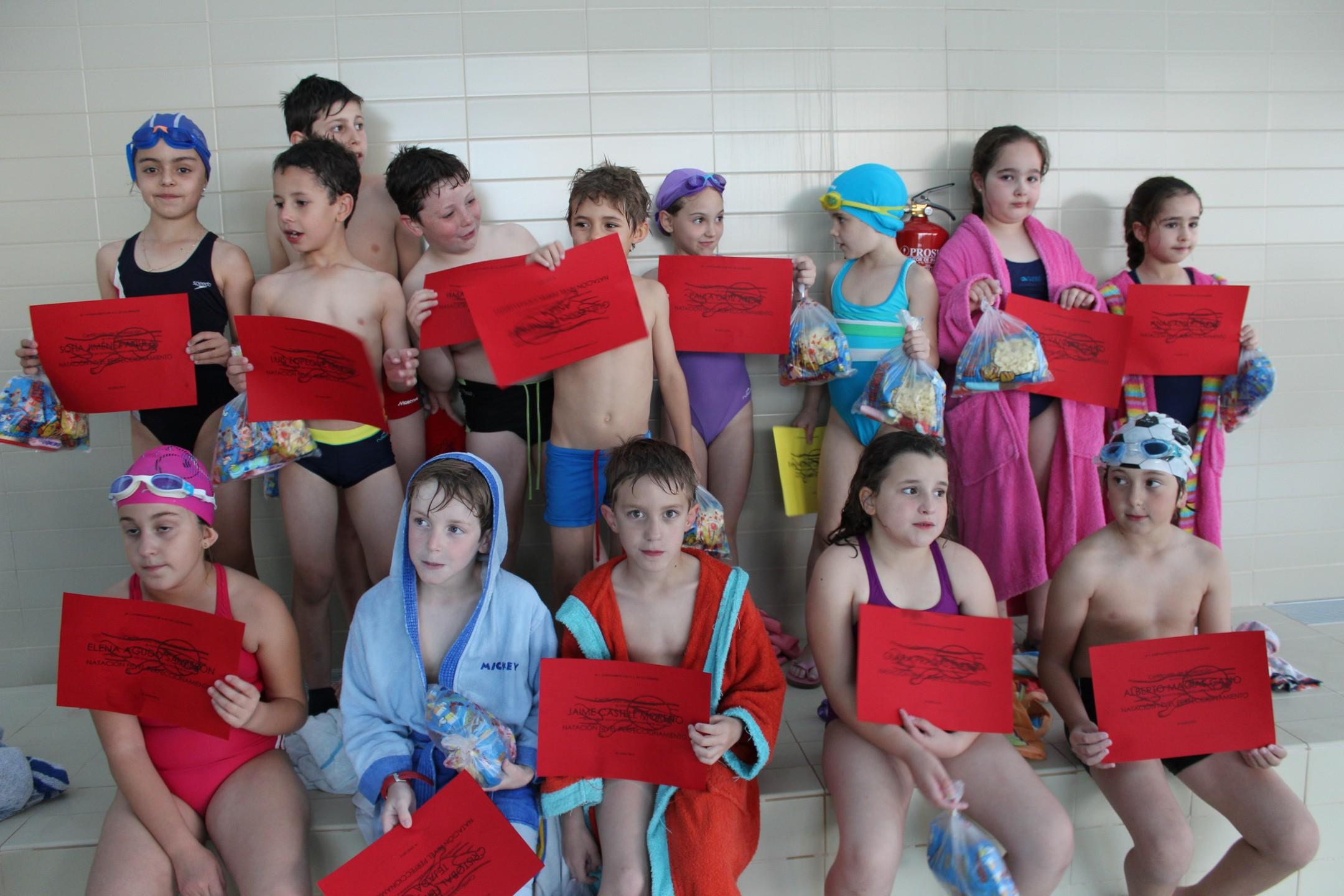 La Piscina Climatizada clausura los cursos de natación en Villanueva de los Infantes
