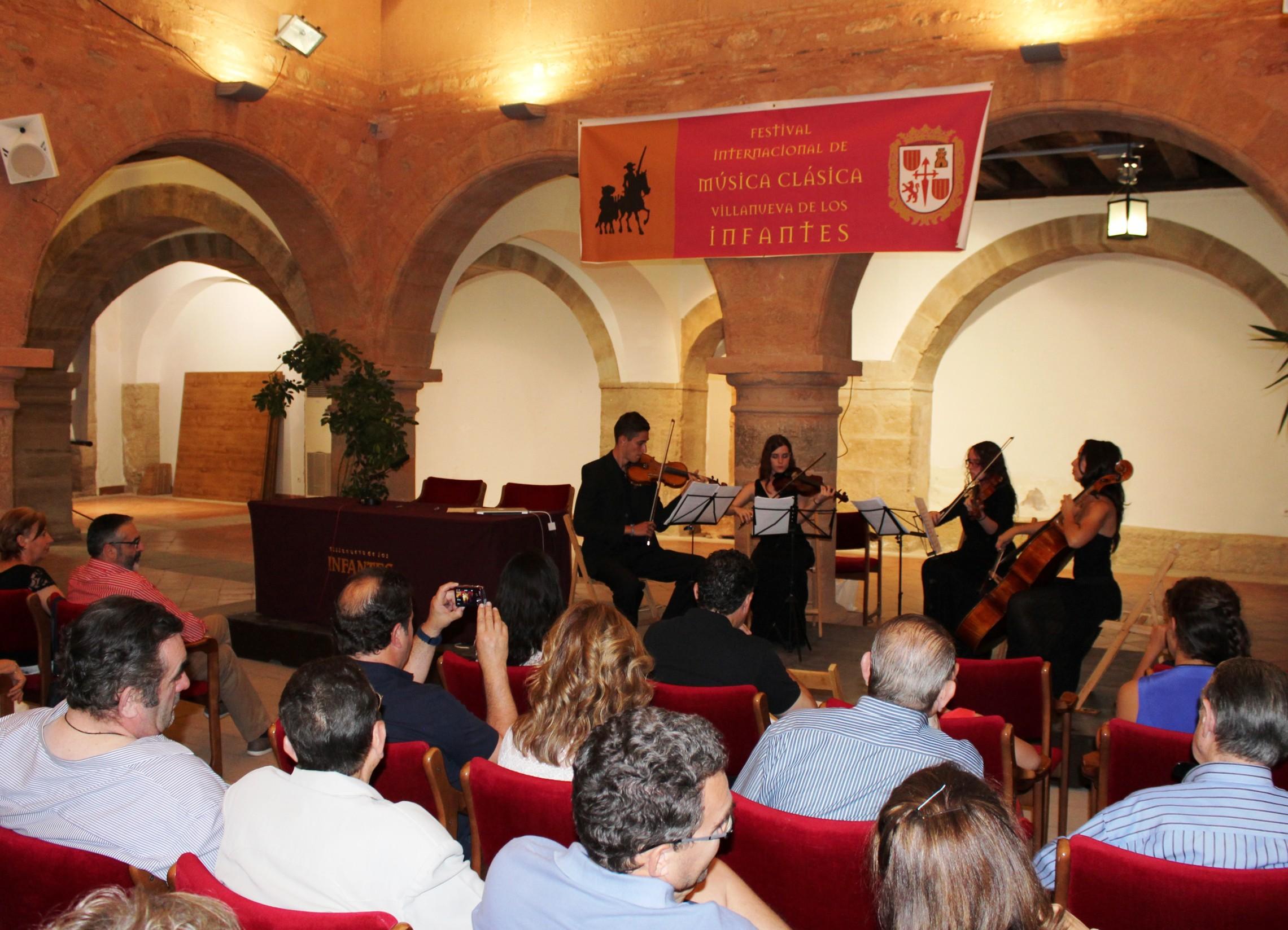 El Quijote será el hilo conductor del Festival Internacional de Música Clásica de Villanueva de los Infantes
