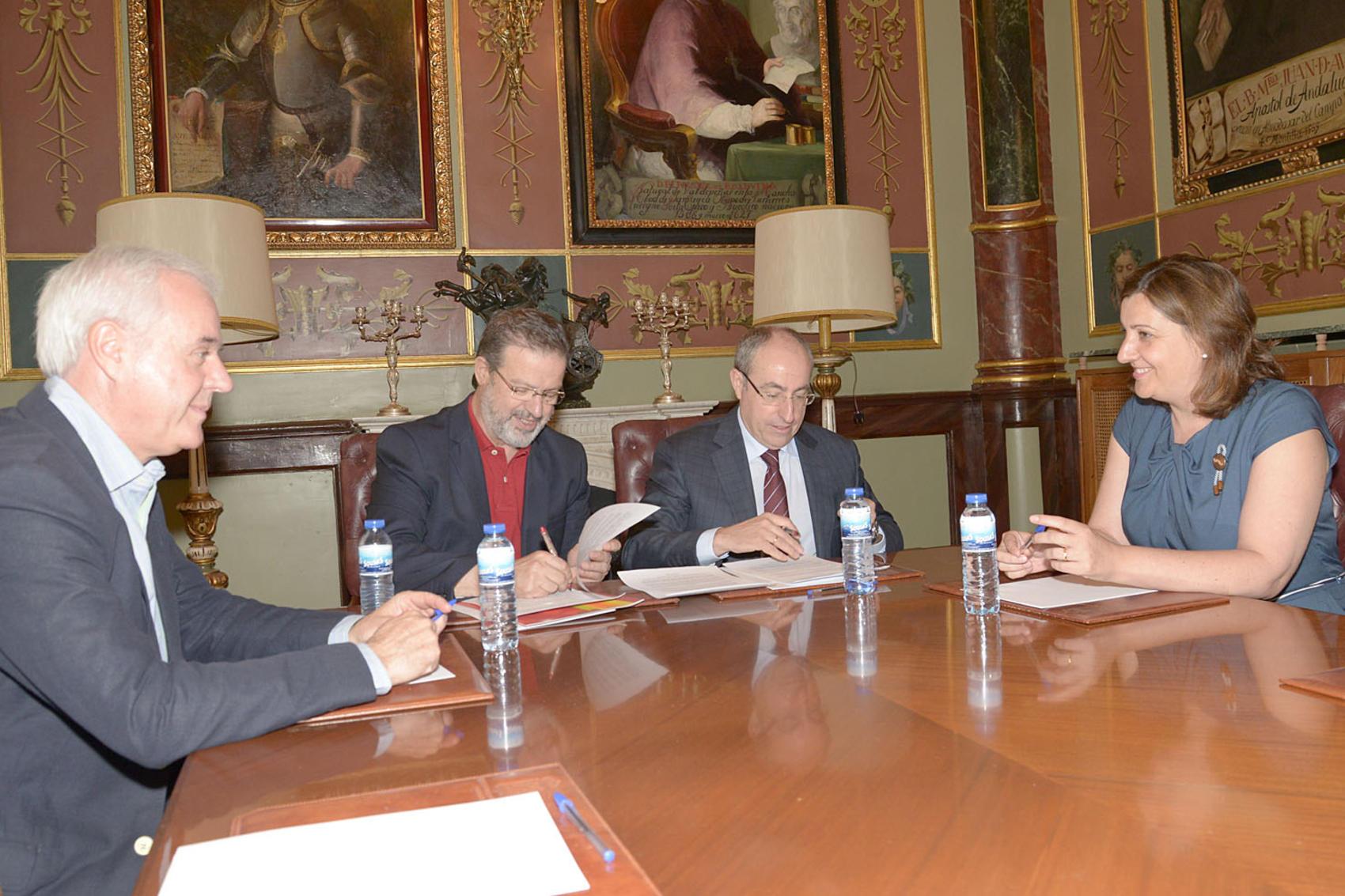 La Diputación aporta 450.000 euros a la Cámara para el desarrollo de acciones comerciales