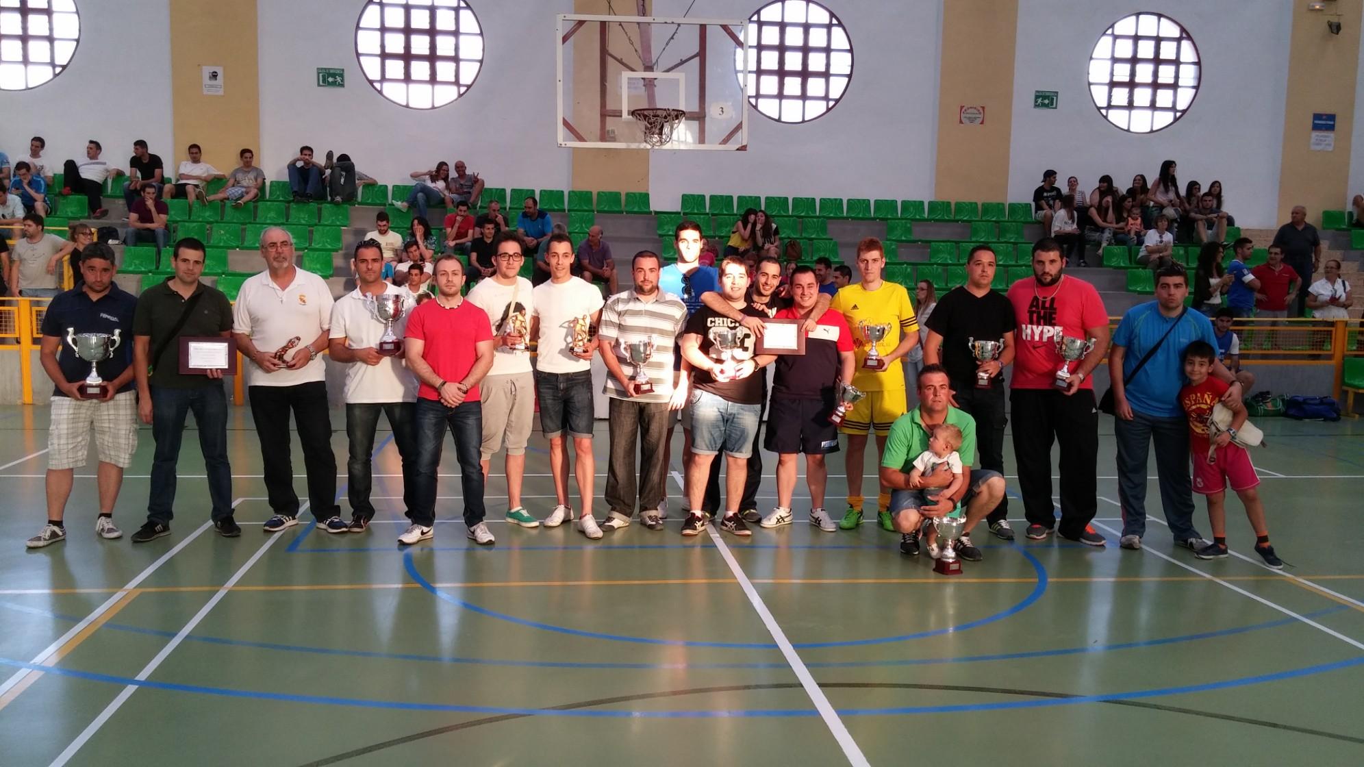 Cuadro de honor Liga y Copa 14-15