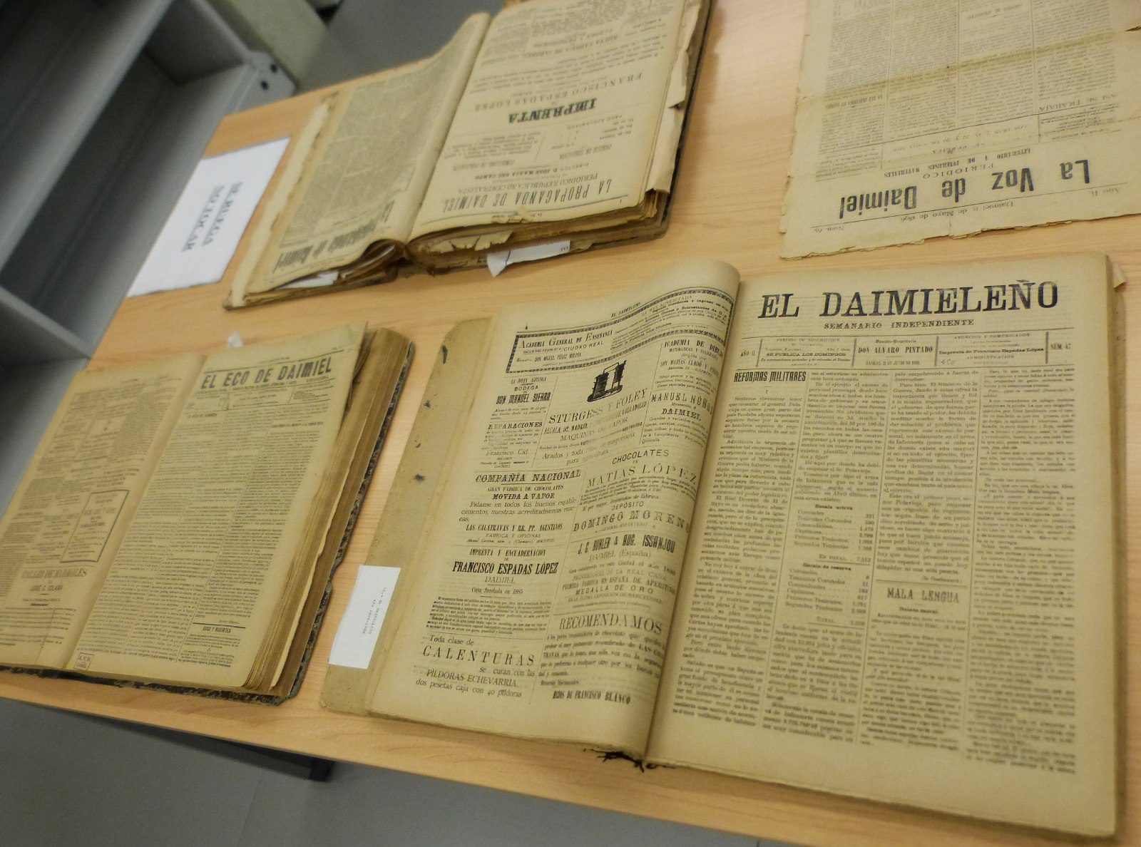 El Archivo se refuerza gracias a una inversión municipal de 6.200 euros