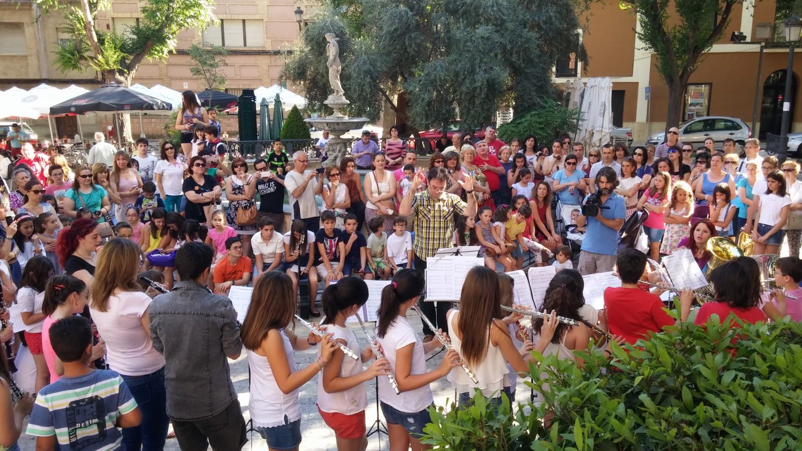 La Escuela Municipal de Música de Daimiel celebró su vigésimo aniversario en 'El Parterre'