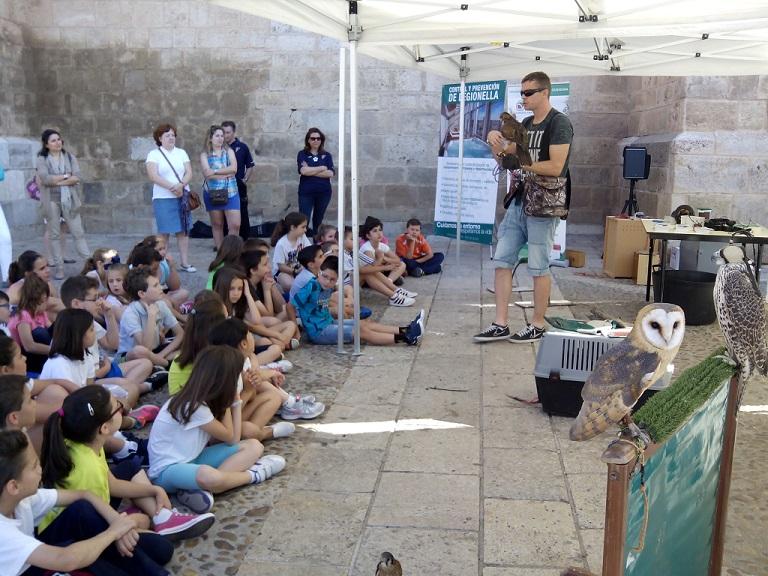 Más de 500 escolares participan en la 'XVI Semana del Medio Ambiente'
