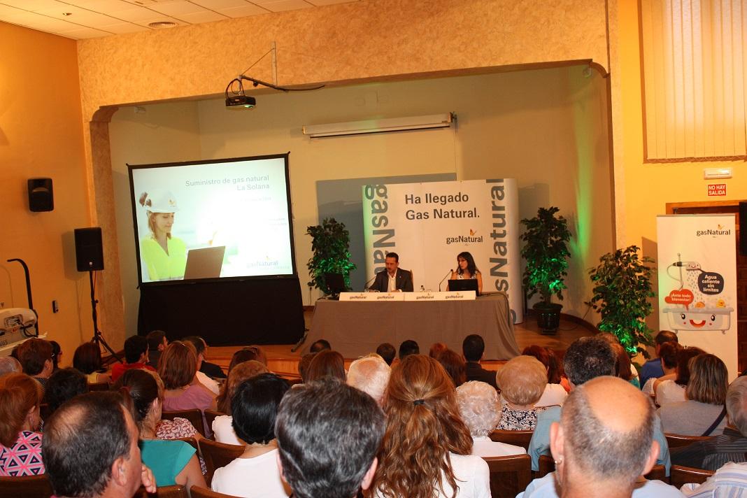 Gas Natural de Castilla-La Mancha invertirá en La Solana cerca de dos millones de euros en la instalación del gas
