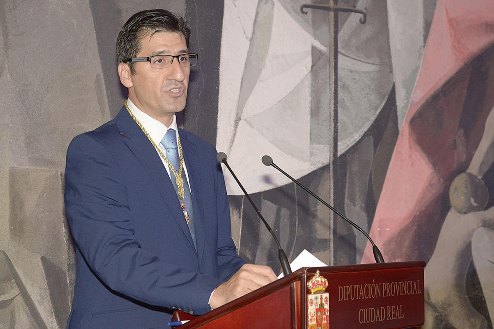 Jose Manuel Caballero se convierte en el sexto presidente de la Diputación provincial de la etapa democrática