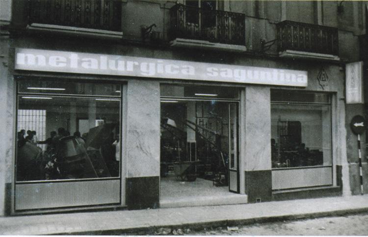 Sede de la empresa en la C/Toledo / Metsa