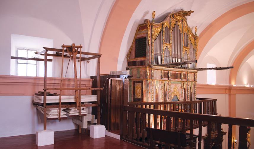 Nuestro patrimonio Órgano Torre de Juan Abad