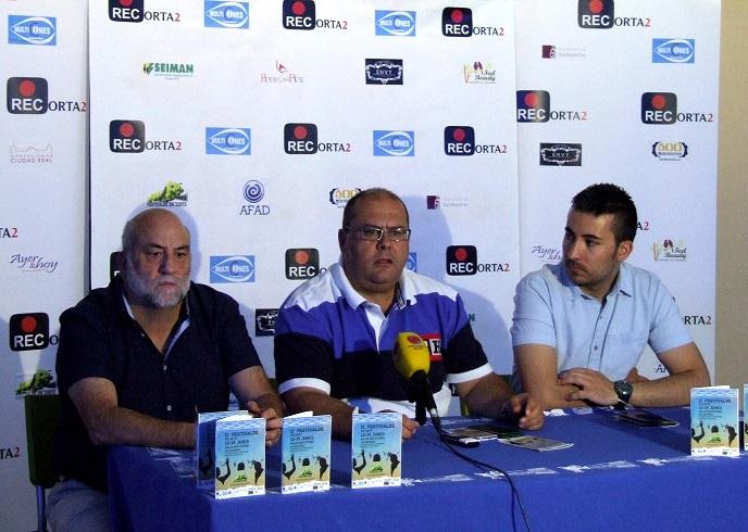 De izquierda a derecha, Paco Serrano, Paco Torres y Juan Pedro Araque