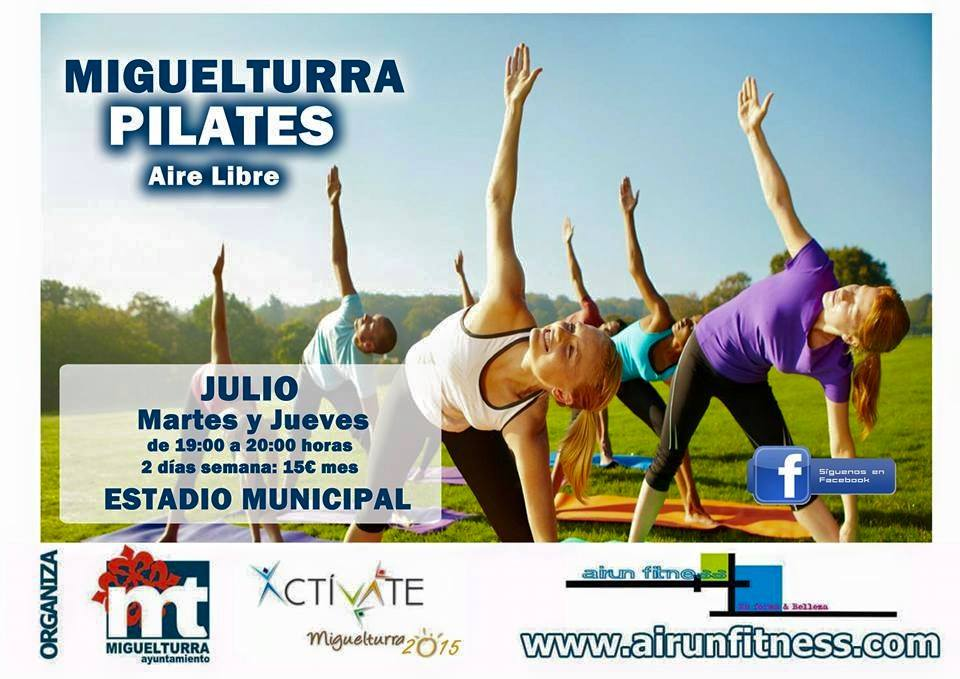 Pilates Activate 2015 Miguelturra