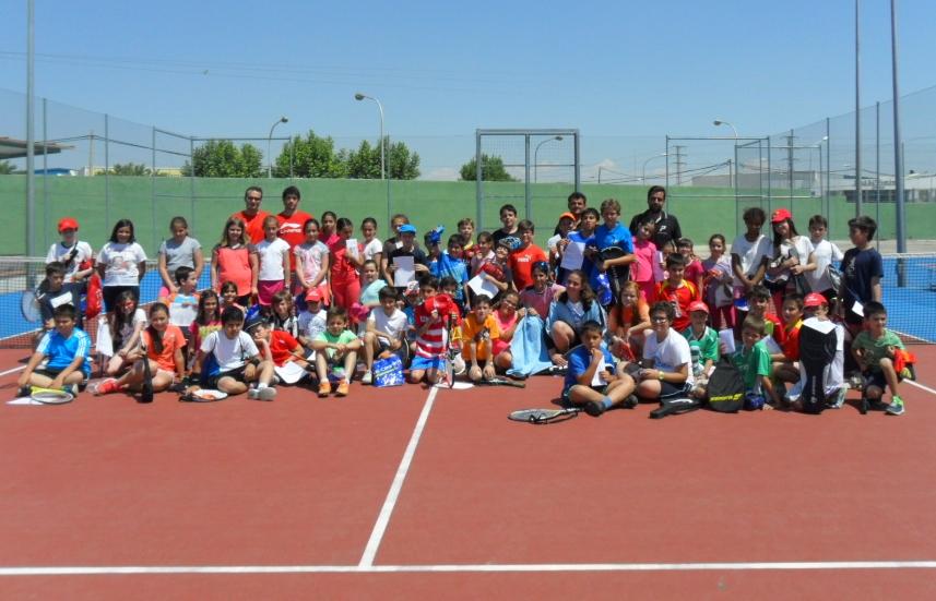 escuela de tenis manzanares