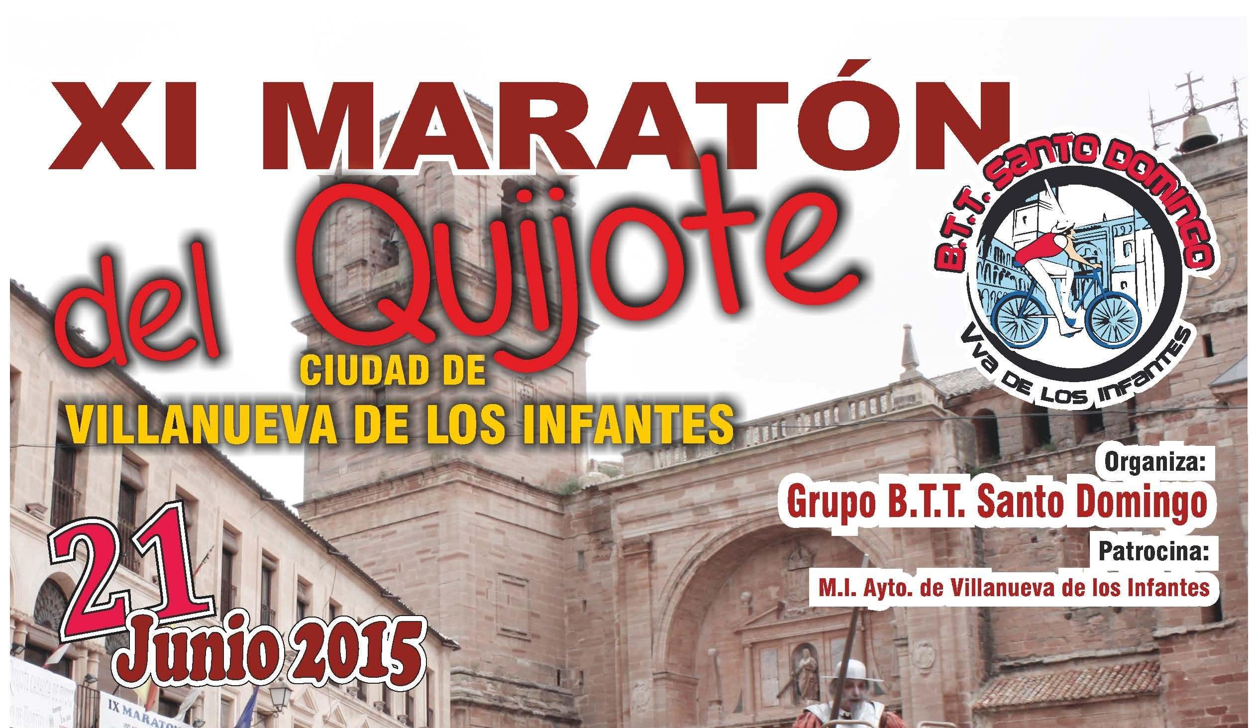 El Club Ciclista BTT Santo Domingo organiza el XI Maratón del Quijote Ciudad de Villanueva de los Infantes
