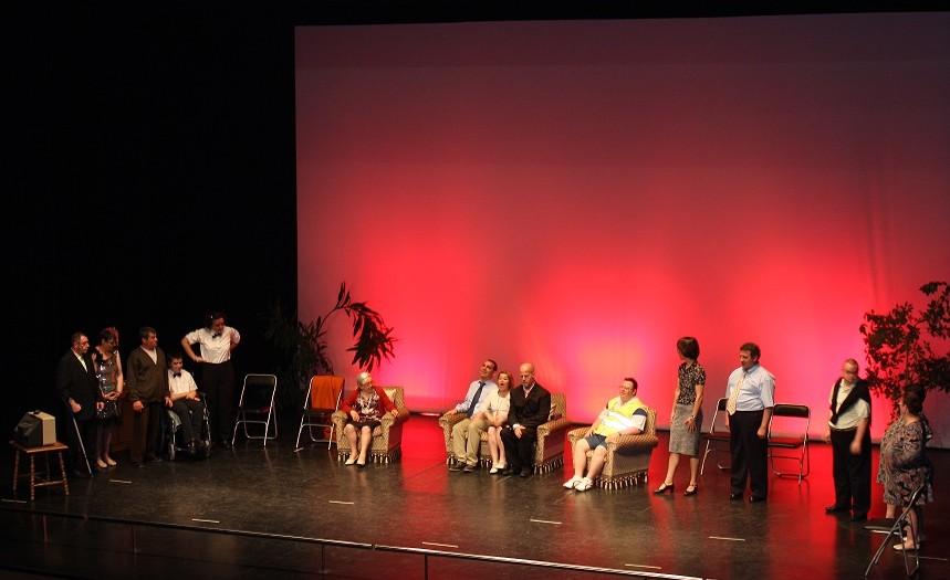 Paté de setas, nueva puesta en escena del grupo de teatro del Centro Ocupacional de La Solana