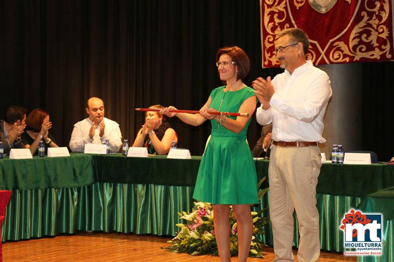 Victoria Sobrino ha sido proclamada alcaldesa de Miguelturra