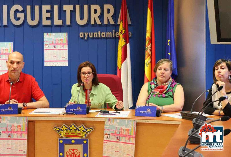 Presentada en Miguelturra por tercer año consecutivo la actividad «Actívate en Verano: No dejes que te lo cuenten, vívelo»
