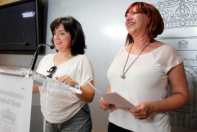 Las concejalas de Acción Social y de Educación anuncian la apertura de los comedores escolares en Ciudad Real