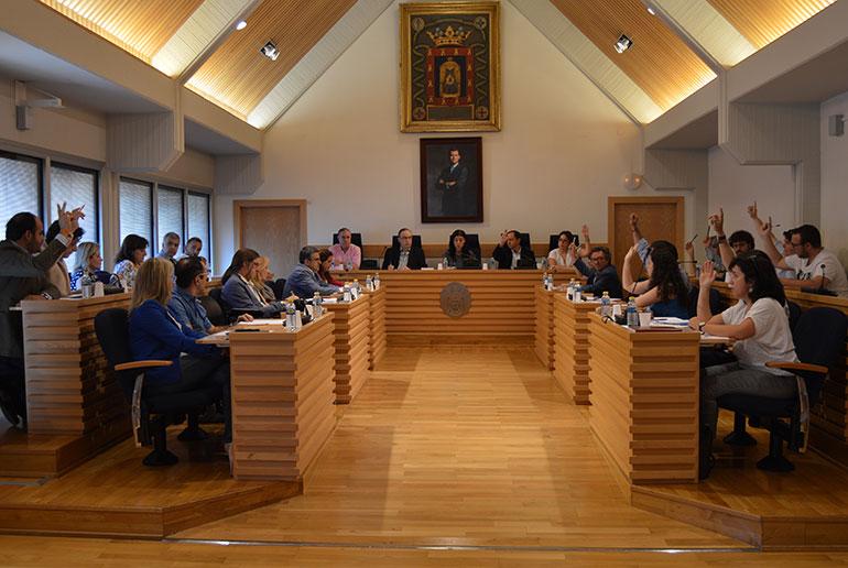 La Corporación Municipal aprueba el régimen de dedicaciones de los concejales y la periodicidad de las sesiones plenarias
