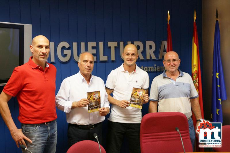 Presentada la decimosexta edición del Campus de Fútbol 2015 de Miguelturra