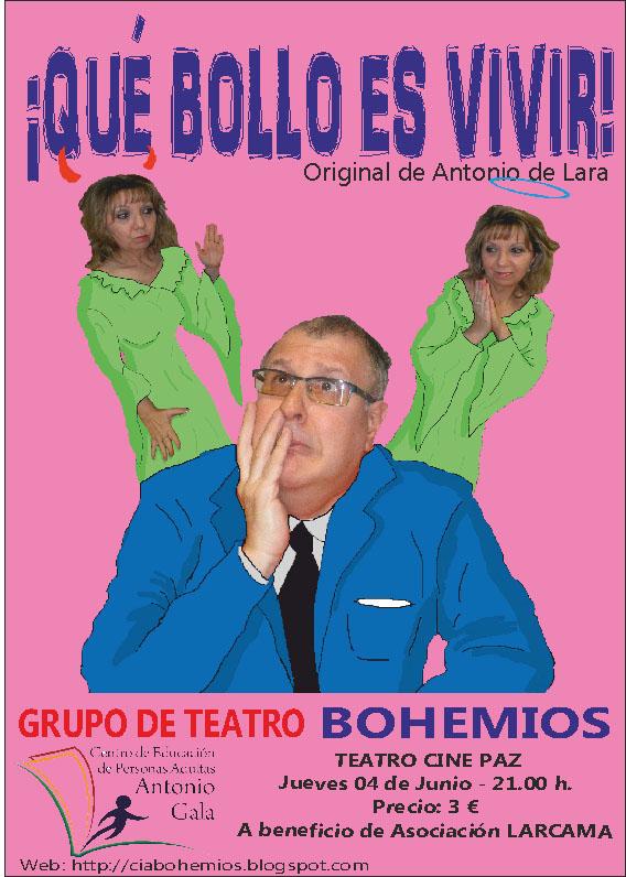 «Qué bollo es vivir», comedia en Miguelturra a cargo del Grupo de Teatro Bohemios