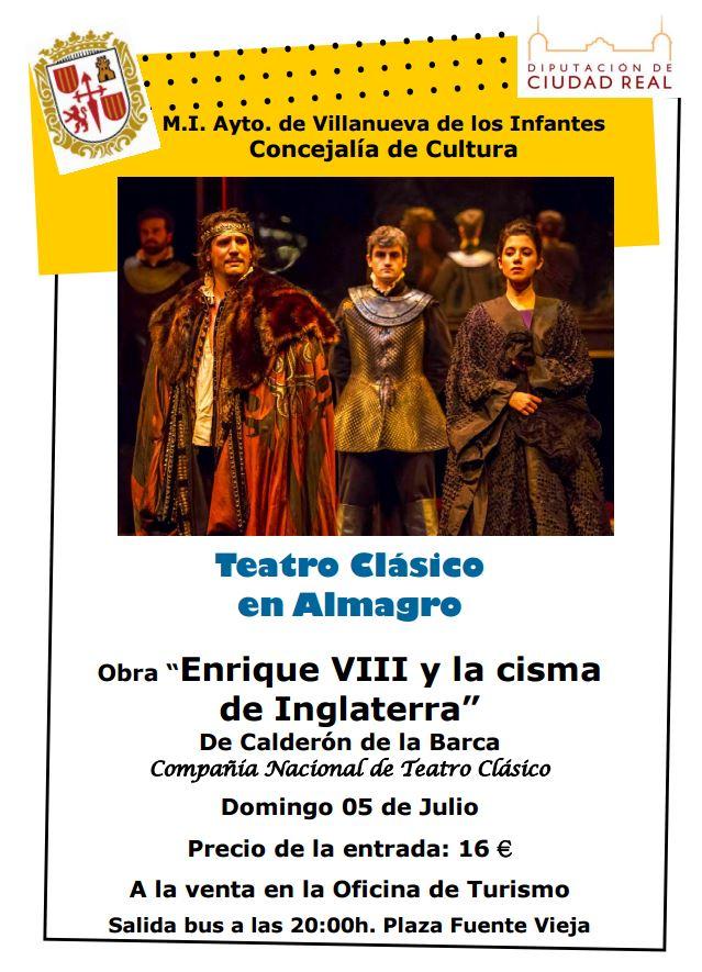 El Ayuntamiento organiza un viaje para asistir al Festival de Teatro de Almagro
