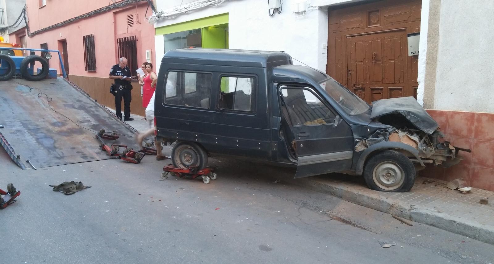 Accidente Barranco Santa María