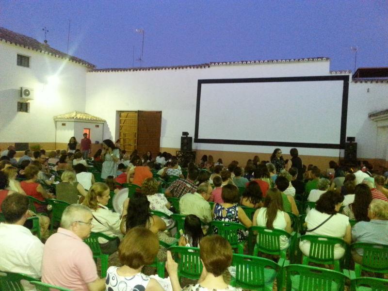 Cine de verano en el Centro Cultural de Manzanares