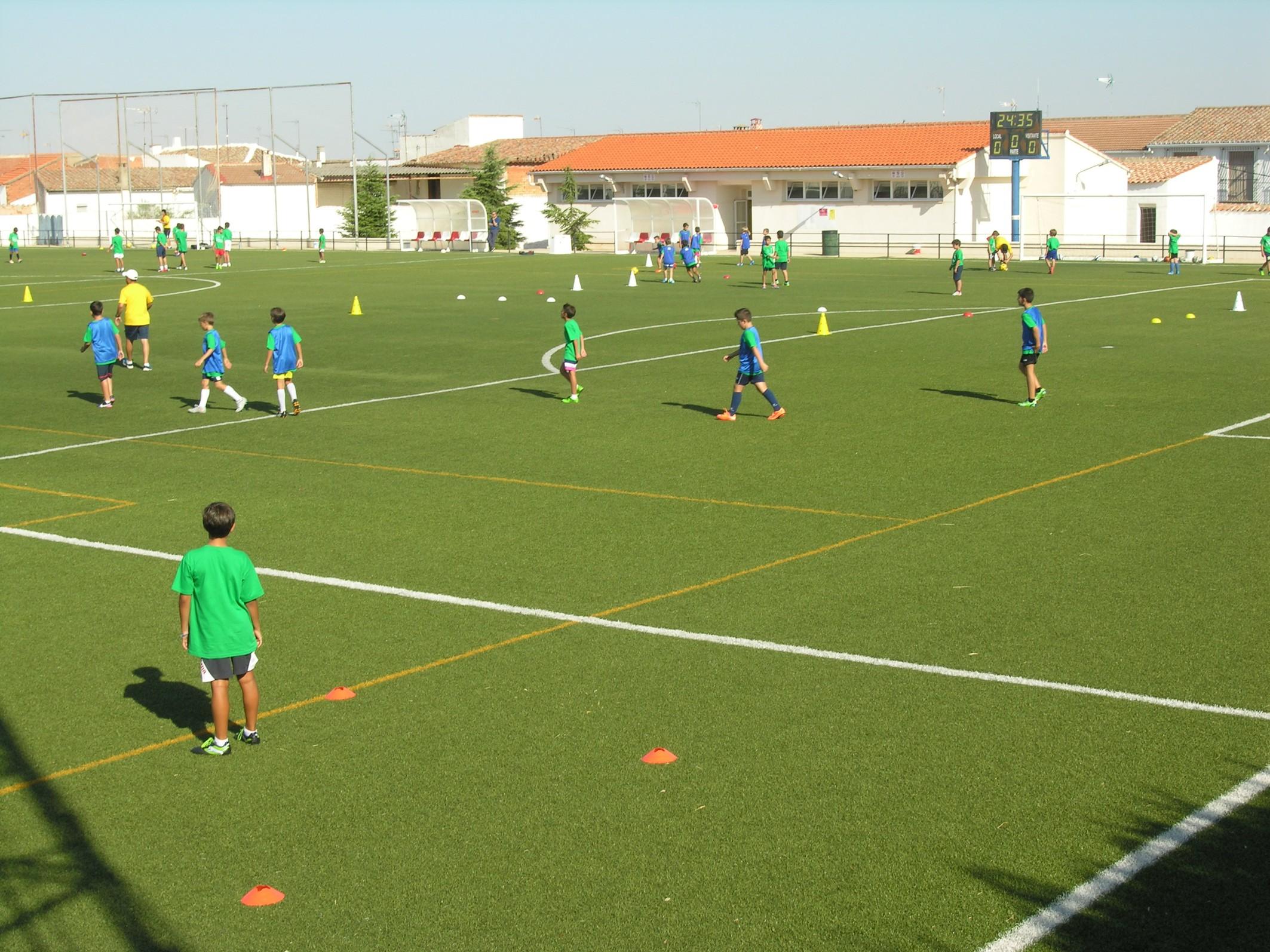 Finalizado el IV Clinic de Fútbol Base de Villanueva de los Infantes