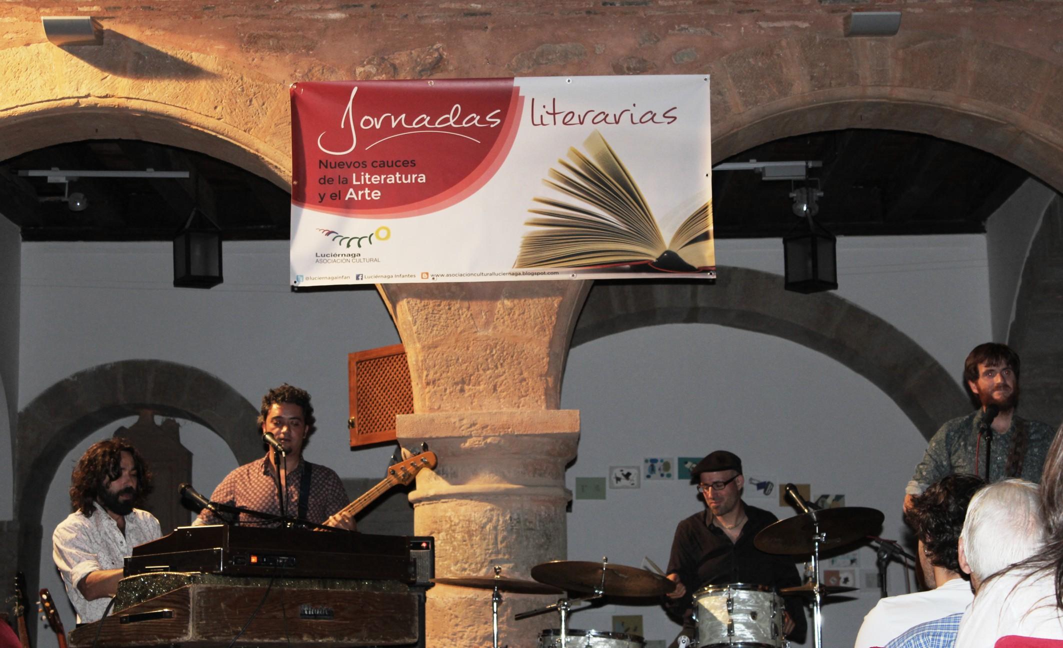 Julián Maeso y su banda presentan en Infantes su nuevo disco