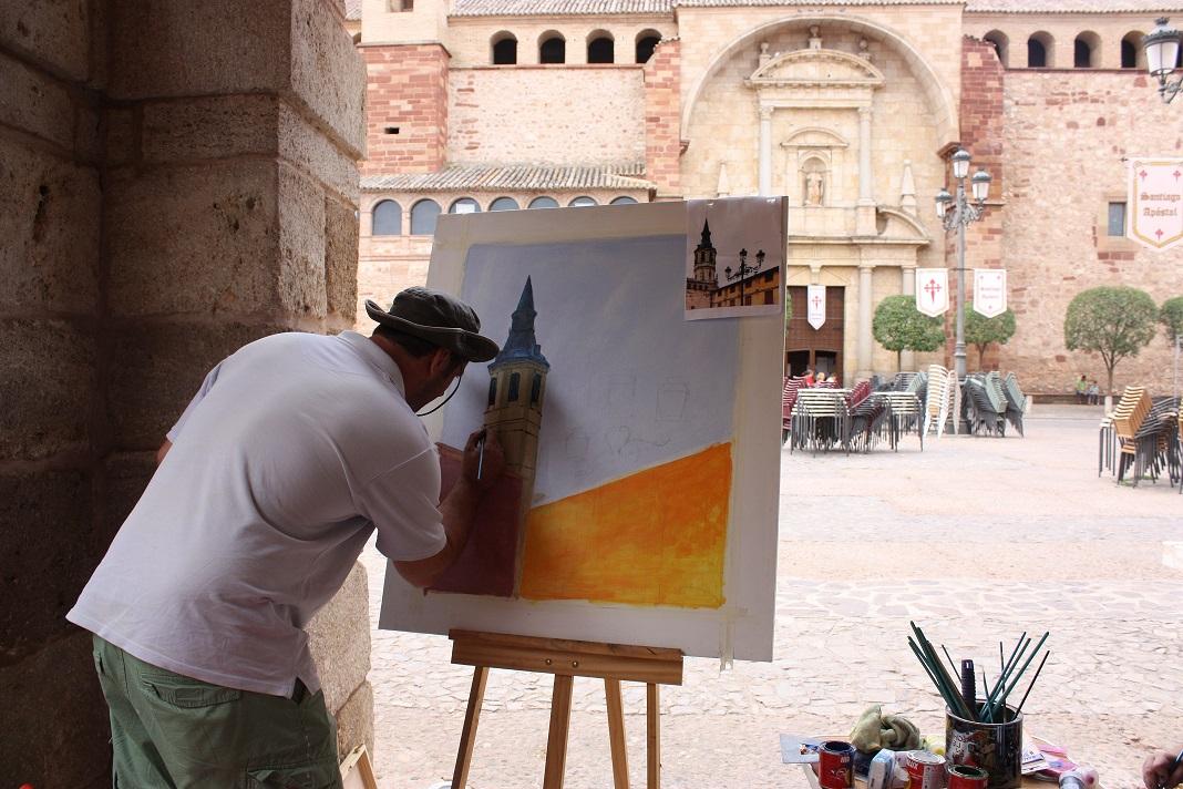 Concurso pintura rapida Plaza