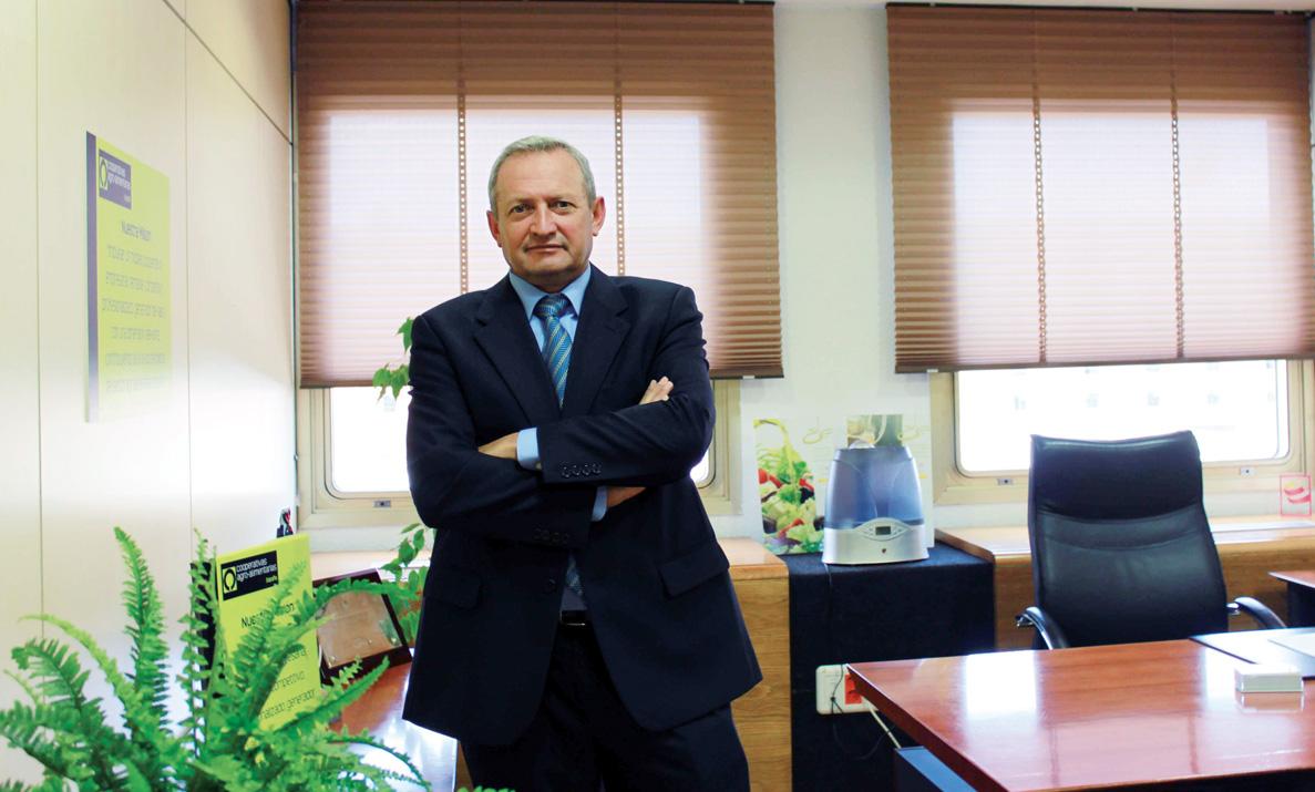 Ángel Villafranca. Presidente de Cooperativas Agroalimentarias Castilla-La Mancha