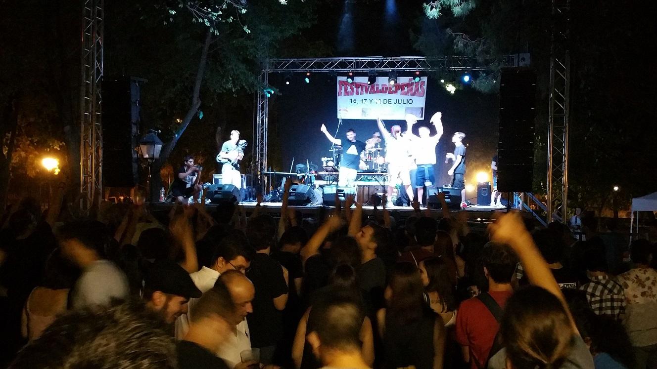 """3.000 jóvenes asistieron este pasado fin de semana al """" Festivaldepeñas 2015"""""""