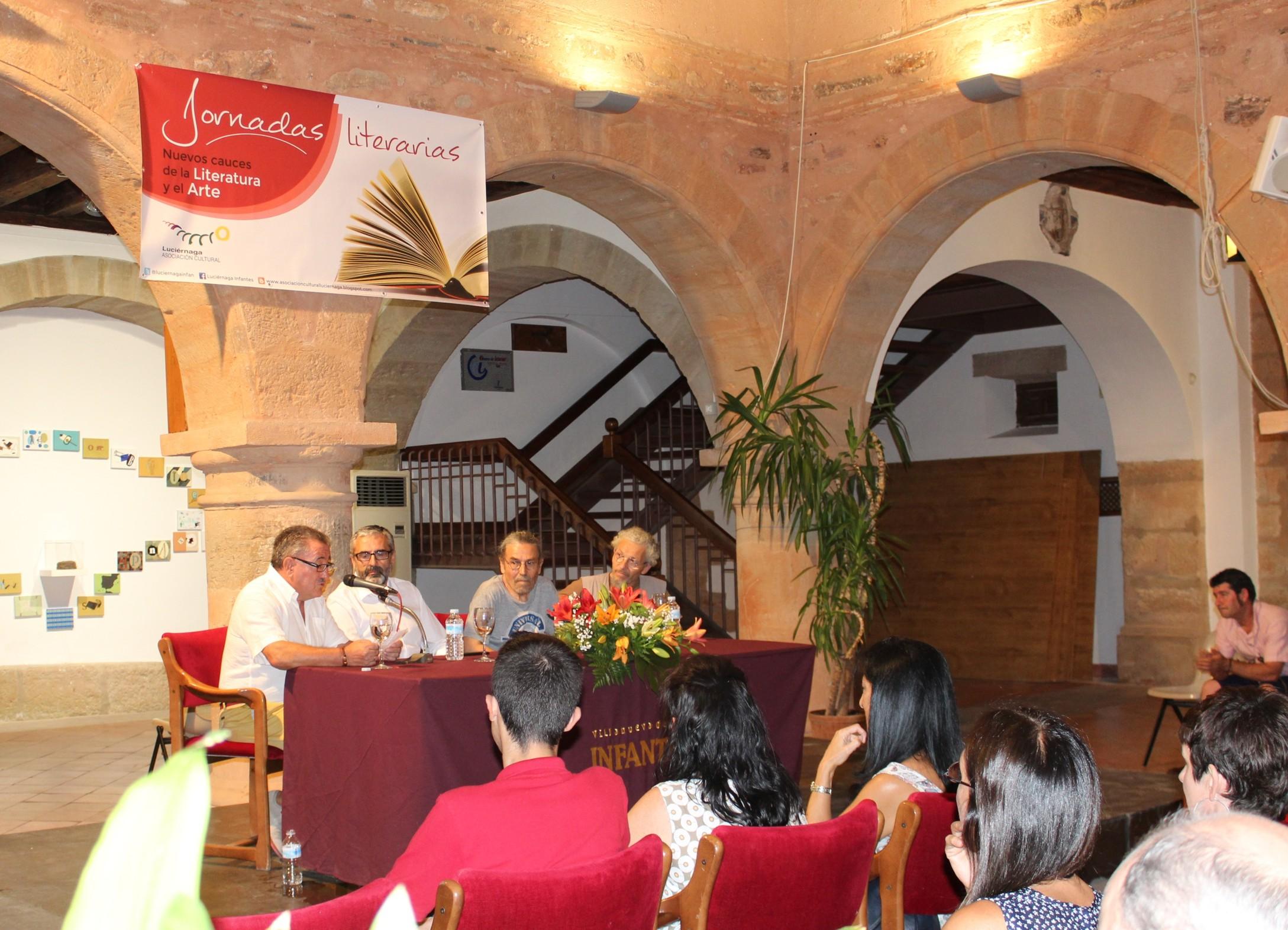 Con la exposición del artista Manuel Bouzo arrancan las XVII Jornadas Literarias