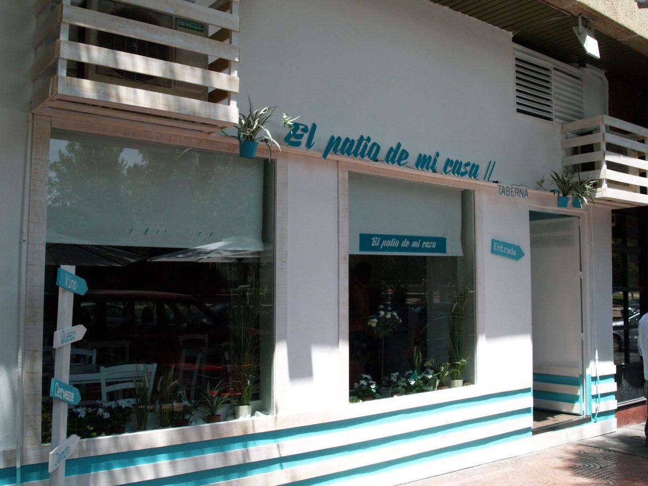 'El Patio de mi Casa', un pequeño rincón de Andalucía en la Avenida El Torreón, de Ciudad Real