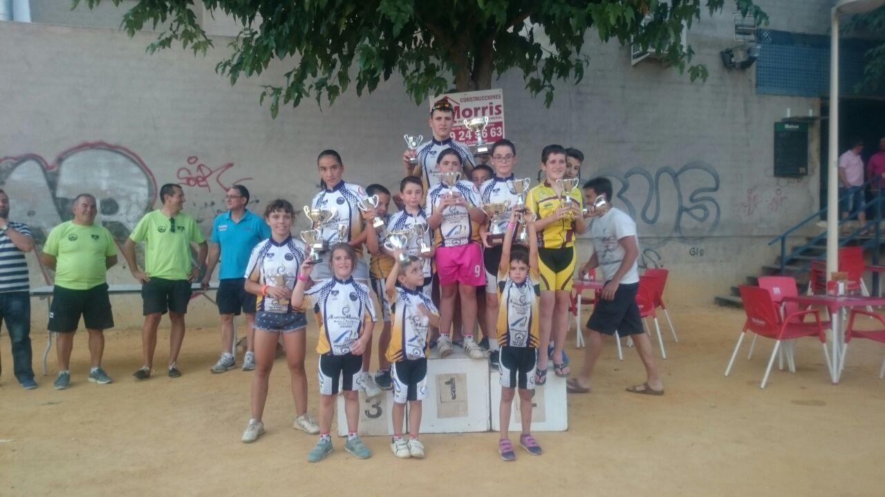 Doblete femenino del Club Ciclista Daimiel en el trofeo Pecharromán