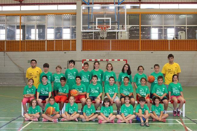 Máxima participación en el IV Clinic de Baloncesto de Villanueva de los Infantes