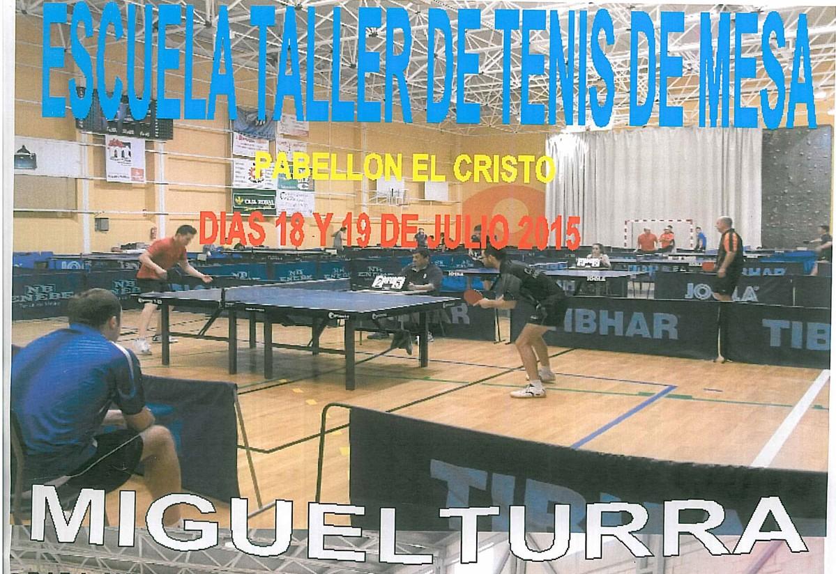 Miguelturra se convierte en la referencia del Tenis de Mesa durante el mes de julio