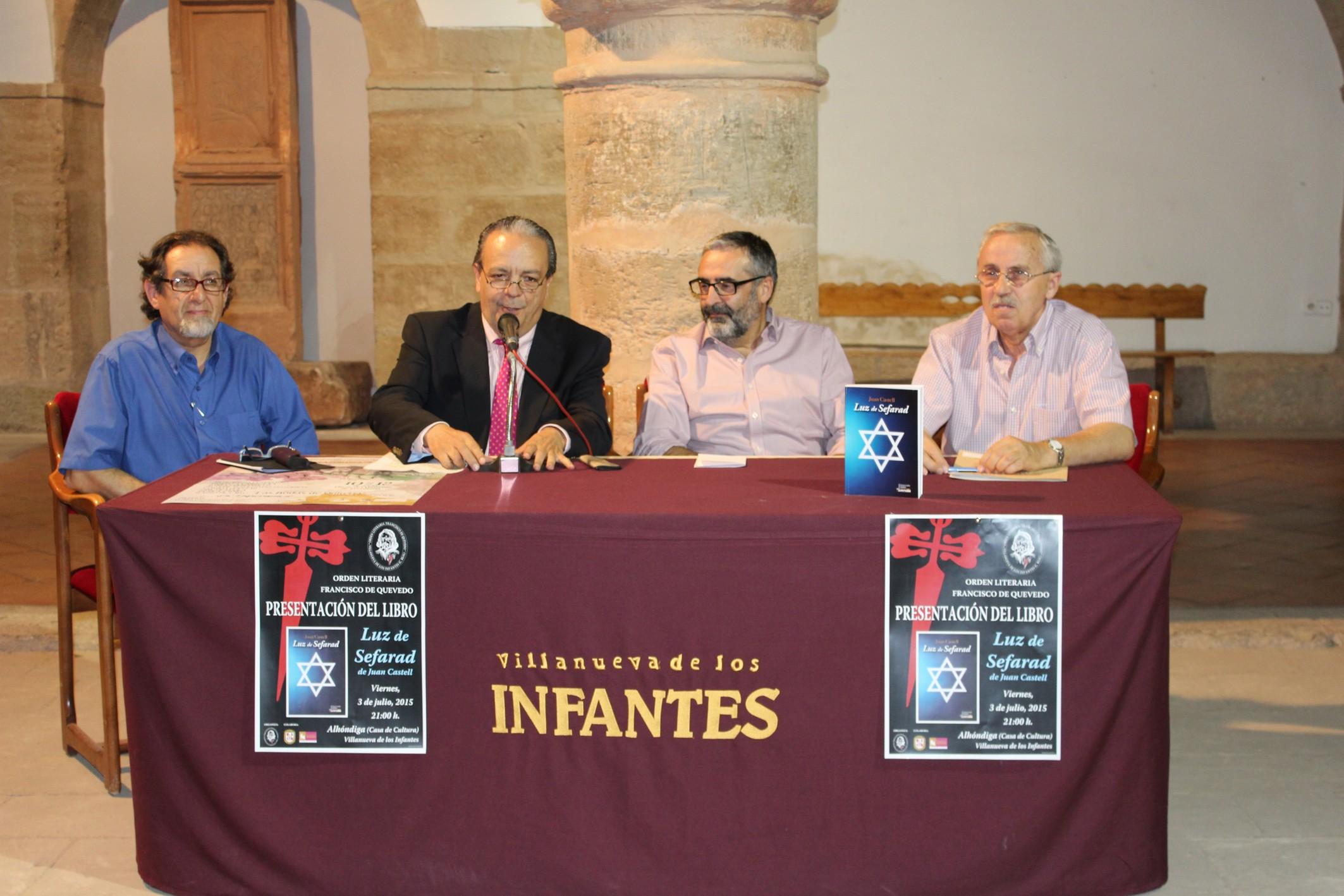 """Emotiva acogida a la presentación del libro de Juan Castell """"Luz de Sefarad"""""""