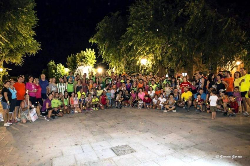 Más de 200 participantes acudieron a la » Quedada Nocturna » solidaria celebrada en Torralba