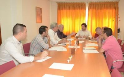 Reunión preparatoria del V Trofeo Diputación Provincial de Fútbol sala segunda