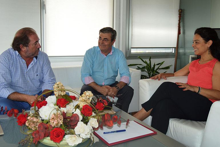 Pilar Zamora muestra el apoyo del Ayuntamiento a la Semana Santa de Ciudad Real