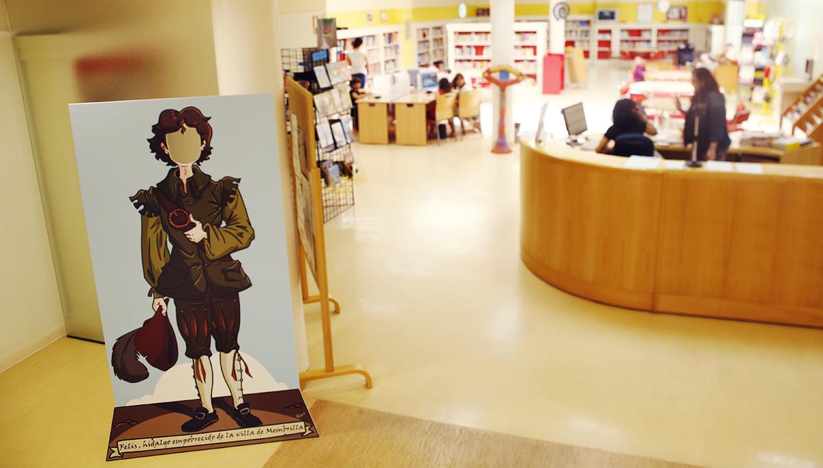 La biblioteca de Manzanares da a conocer ' El galán de la Membrilla ' con actividades para todas las edades