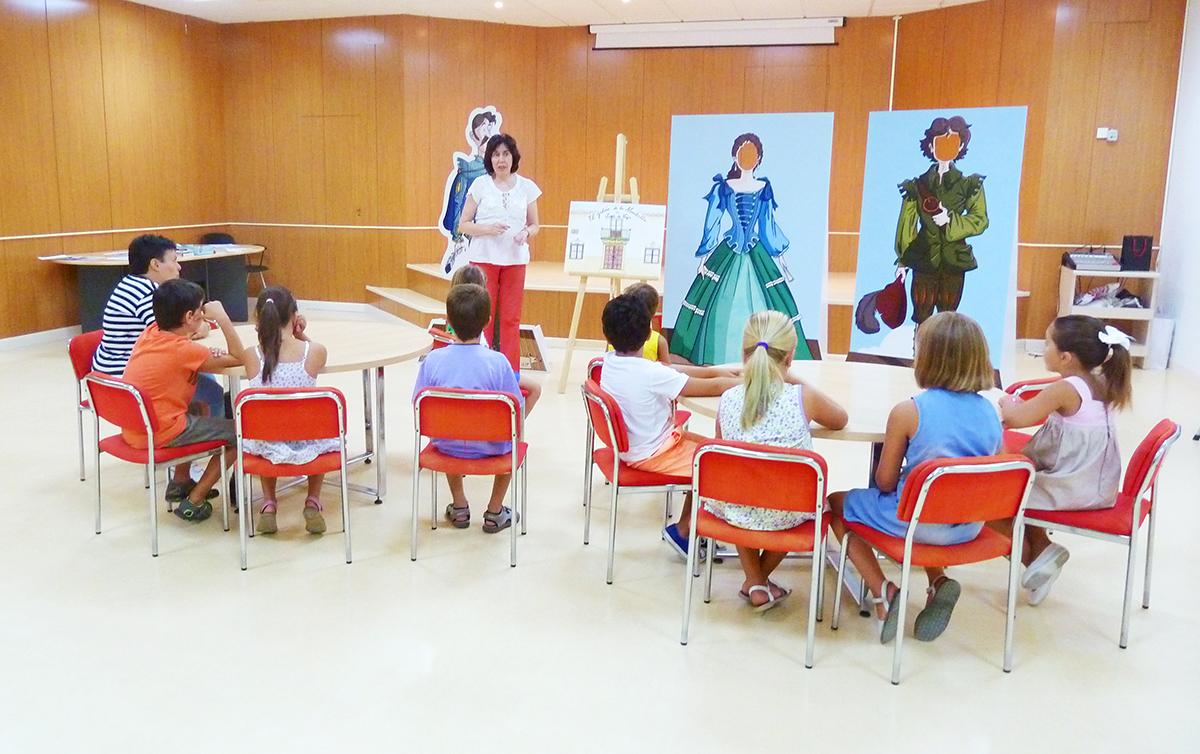 El ' Biblioverano ' triunfa entre los más pequeños